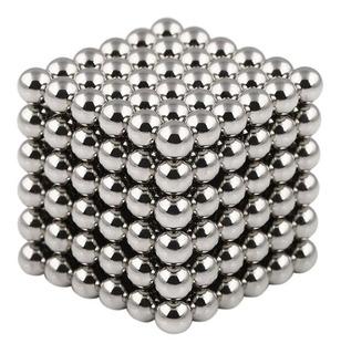 Juego Cubo Magico Imantado De Ingenio Esferas Monocromo 8686
