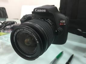 Câmera Canon Rebel T6 + Capa Bolsa Case