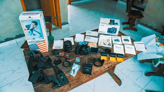 Câmera Canon Eos 70d + Lente 18-135 + A Vista 2799
