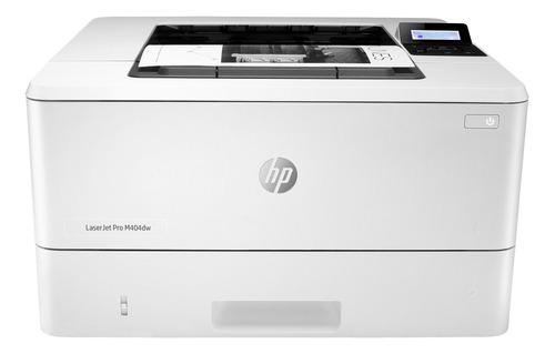 Impresora HP LaserJet Pro M404DW con wifi 220V blanca