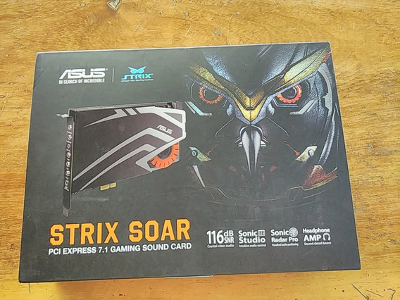 Placa De Som Asus Strix Soar 7.1