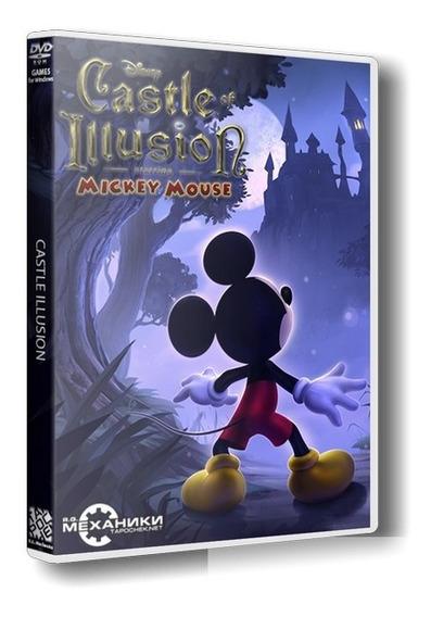 Castle Of Illusion Mickey Mouse Game Pc Dvd Frete 8 Reais