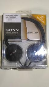 Fone Profissional Sony Original Mdr-zx100 Headphone