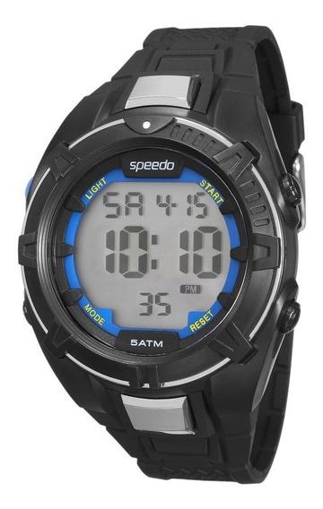Relógio Masculino Speedo Digital 81131g0evnp1 + Nota Fiscal Ctsports