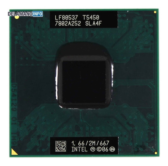 Processador Notebook Core 2 Duo T5450 1.66ghz (11282)