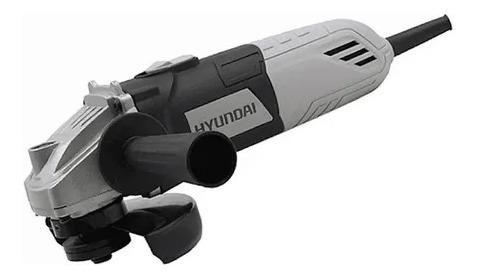 Amoladora Angular Hyundai Hy6010 115mm 1100rpm 600 Watts