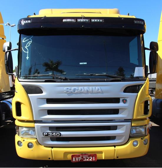 Scania P340 - 2011/11 - 4x2 I 90 Dias De Garantia (avp 3221)