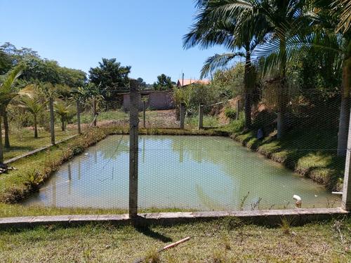 Chacara Ibiúna 2.700 Mts Casinha,pomar,lago, Boa Localização