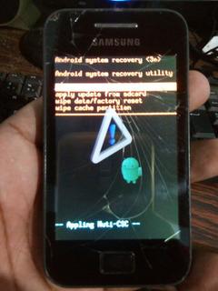 Samsung Galaxy Ace 5830c Touch Trincado Travado (descriçao)