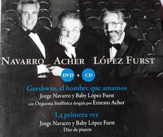 Navarro Acher Lopez Furst Gershwin El Hombre Cd + Dvd Kktus