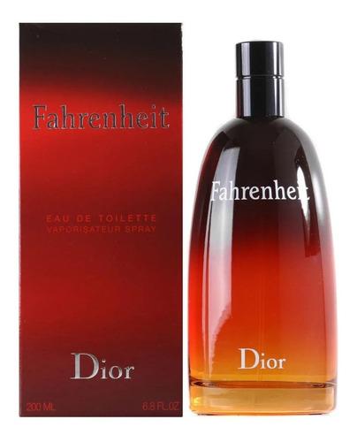 Perfume Hombre Christian Dior Fahrenheit Edt 200ml