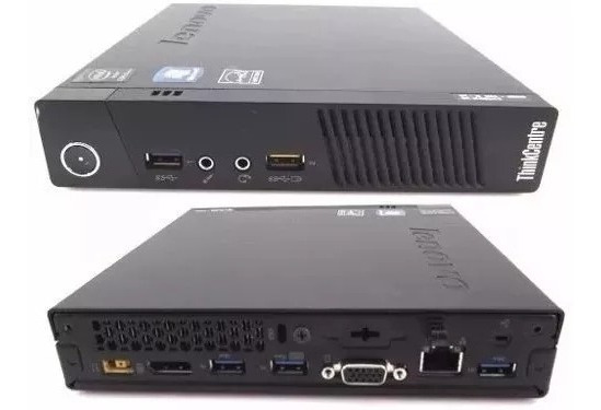 Mini Pc Lenovo Thinkcentre M93p Series I3 4130t 4gb Hd 500gb