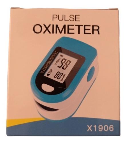 Saturometro Oximetro Pulso Pantalla Led Analogo