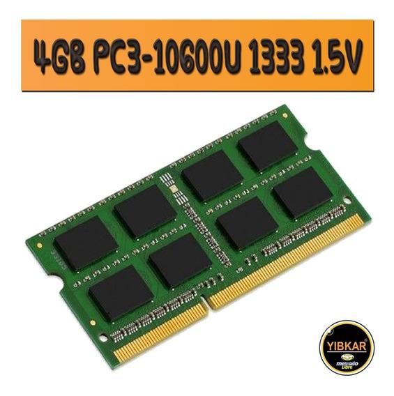 Memoria Ram Ddr3 4gb 1333 Mhz Pc3-10600 Para Laptop