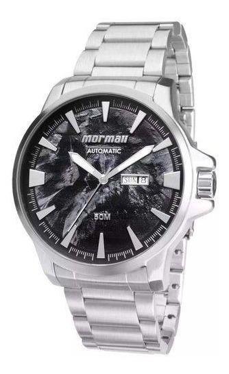 Relógio Mormaii Masculino Automatico Prata Mo8205ab/3p