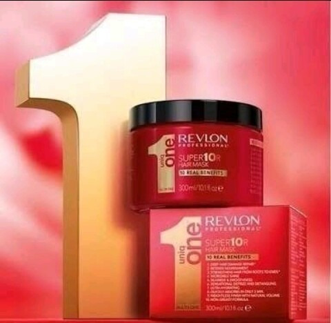 Super10r Hair Mask Revlon Uniq One 10 Benefícios 300ml