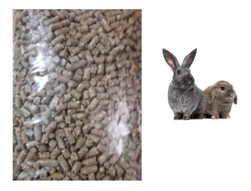 Ración Conejos 15 Kilos Pellet Colonia El Ombú