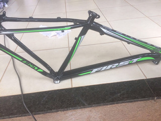 Quadro Fisrt Xc 29 Tamanho M Pto/verde