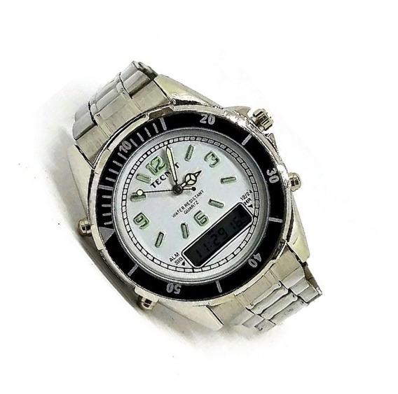 Relógio Tecnet 2 Em 1 (digital E Analogico)