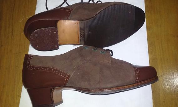 Zapatos De Mujer Color Marron N° 34
