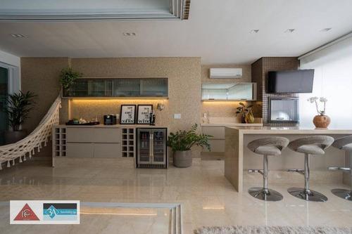 Imagem 1 de 30 de Apartamento Com 3 Dormitórios À Venda, 218 M² Por R$ 2.650.000 - Anália Franco - São Paulo/sp - Ap5732