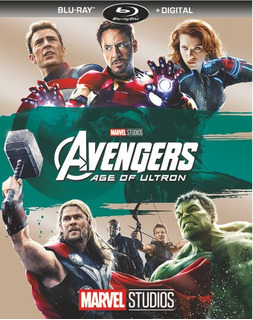 Avengers: Age Of Ultron Blu-ray Us Import