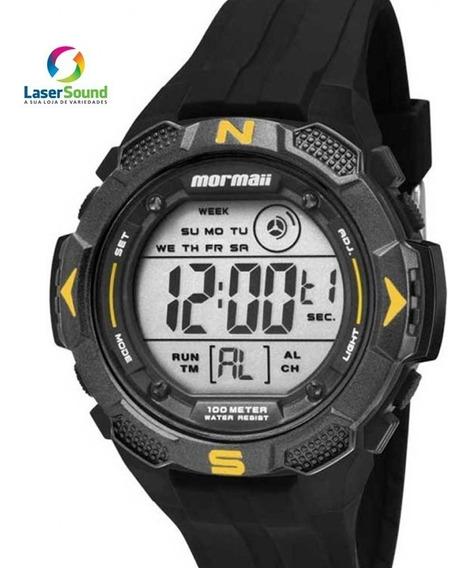 Relógio Mormaii Masculino Mo2908/8y, C/ Garantia E Nf