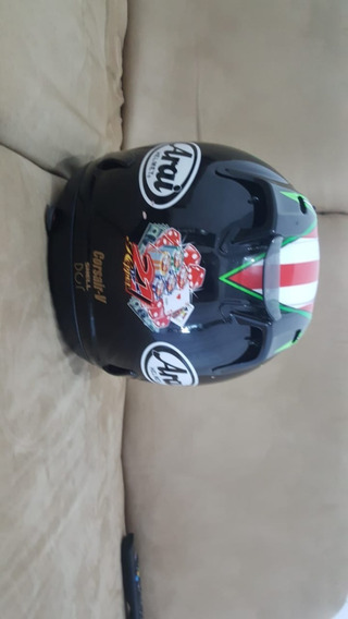 Capacete Arai Helmet Modelo Monster Energy Corsair V