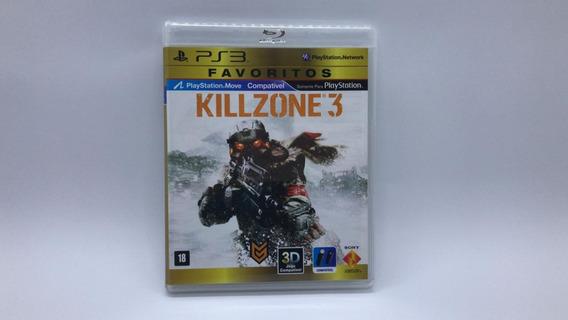 Killzone 3 - Ps3 - Midia Fisica Em Cd Original