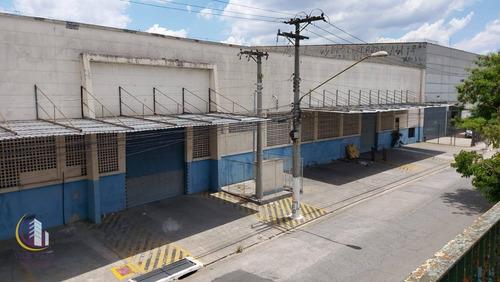 Galpão 3.328 M² Com Docas, Vagas De Estacionamento, Vestiários, Banheiros, Cozinha E Refeitório - Vila Leopoldina - São Paulo/sp - Ga0063