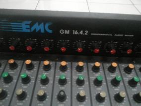 Mesa De Som Emc Gm 16-4-2 Imperdível !