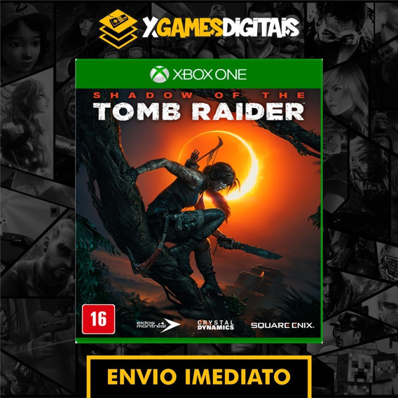 Shadow Of Tomb Raider Xbox One Midia Digital Online