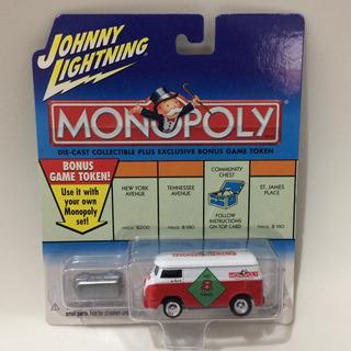 Johnny Lightning Monopoly Kombi Vw Volkswagen Raro