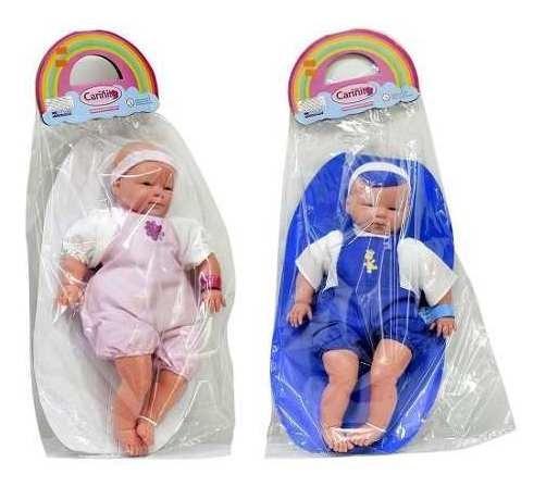 Muñeco Bebe Grande Nene Nena 45 Cm Cariñito