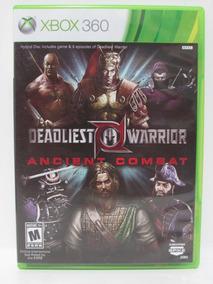 Deadliest Warrior: Ancient Combat - Xbox 360 Original Comple