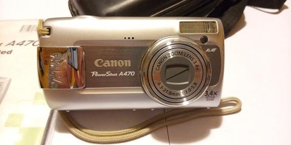 Cámara Fotográfica Canon Powershot A470