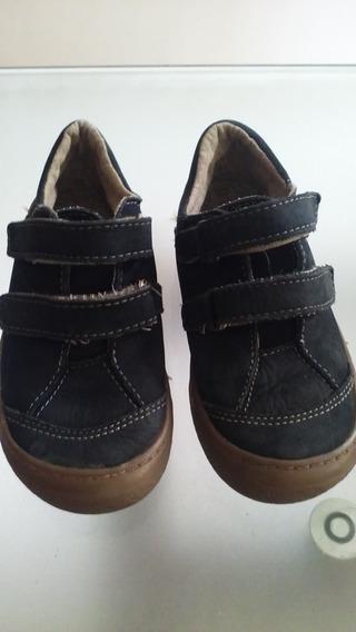Zapatos Casuales Kickers Para Niños Talla 28