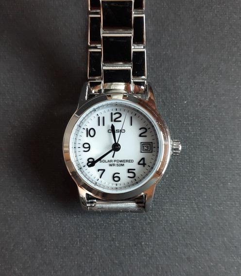 Relógio Feminino Casio Ltp S100 Solar Powered - Usado