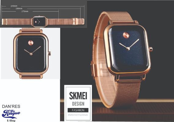 Relógio Skmei 9187 Feminino Analógico Estilo Watch