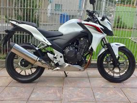 Honda Cb 500f 2015 Com 8.200 Km - Baixa Km, Estado De Zero