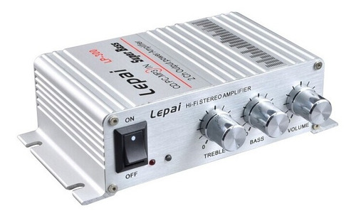 Mini Amplificador De Audio Lepy Salida Rca/aux [lp-300]