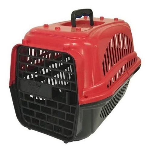 Caixa De Transporte N2 Cães Gatos Porte Pequeno Confortável