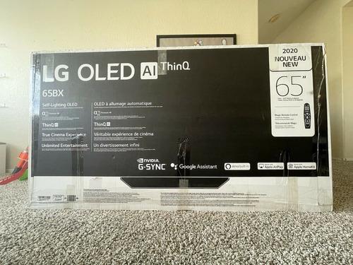 LG Bx Tv Oled Inteligente 4k Clase De 65 Pulgadas Con Ai Thi