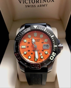 Victorinox Swiss Army Diver Master Laranja , Black Case!