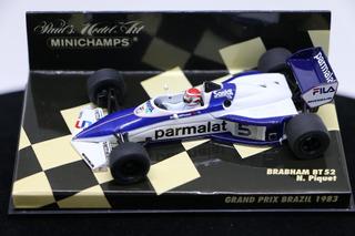 Miniatura Nelson Piquet Word Champion 1983 Brabham Bt52 1/43