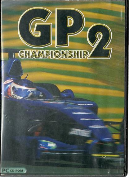Cd Jogo Gp 2 Championship Pc Cd-rom Cx 26