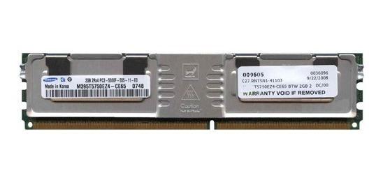 Memoria Servidor Fb-dimm Ddr2 667 2gb Fully Buffered Ecc Reg
