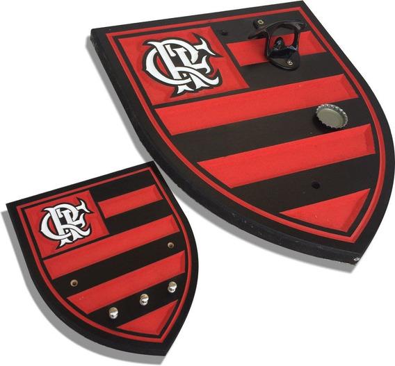 Abridor De Cerveja E Porta Chaves Flamengo - Frete Grátis