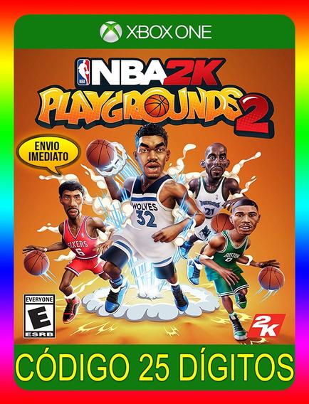 Nba 2k Playgrounds 2 Xbox One - 25 Dígitos (envio Flash)