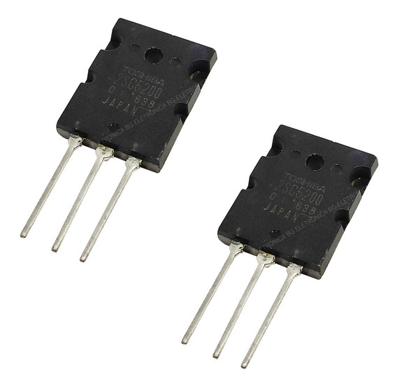 Transistor 2sc5200 Toshiba Kit Com 2